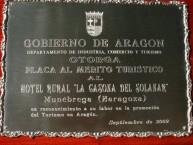 HOTEL RURAL *** LA CASONA DEL SOLANAR (Munébrega - Zaragoza)  - Foto 3